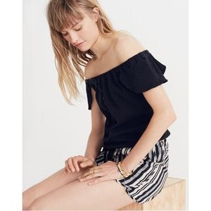 Madewell Tops - Madewell Texture & Thread Off-the-Shoulder Top